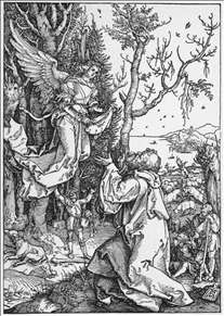 Life of the Virgin: 2. The Angel Appering to Joachim