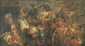 Triumphal Entry of Henry IV into Paris