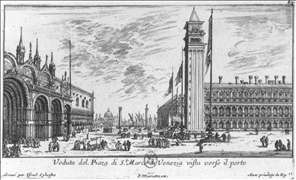 Piazzetta from the Piazza San Marco