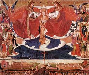 The Coronation of Mary