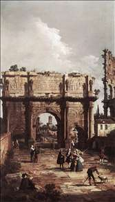 Rome: The Arch of Constantine