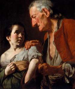 Old Man and a Child