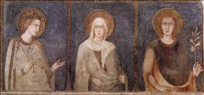 St Elisabeth, St Margaret and Henry of Hungary