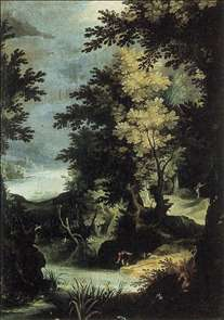 Landscape with a Mythological Scene
