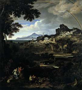 Heroic Landscape with Rainbow