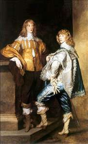 Lord John and Lord Bernard Stuart