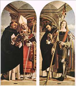 Sts Thomas Aquinas and Flavian, Sts Peter the Martyr and Vitus