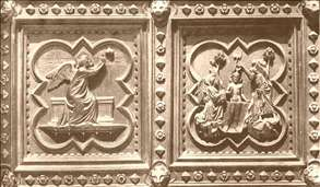 Scenes from the Life of St John the Baptist (panels of the south doors)