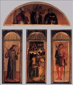 Triptych of the Nativity