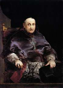 Portrait of Don Juan Francisco Ximénez del Rio, Archbishop of Valencia