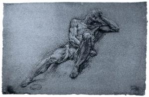 Sleeping Nude Figure