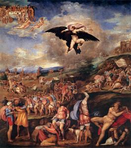 The Battle of Montemurlo and the Rape of Ganymede