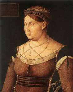 Portrait of Catharina Cornaro, Queen of Cyprus