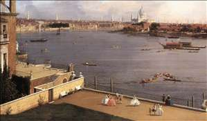 London: The Thames and the City of London from Richmond House