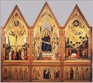 The Stefaneschi Triptych (recto)