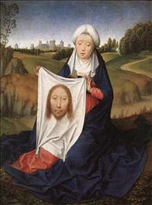 St John and Veronica Diptych (right wing)