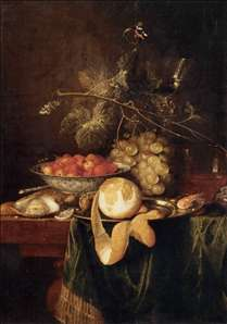 Still-Life with a Peeled Lemon