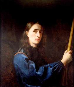 Self-Portrait in a Blue Coat with Cuirass