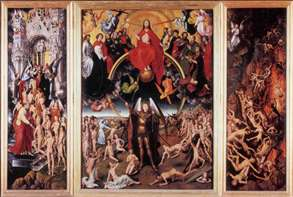 Last Judgment Triptych (open)