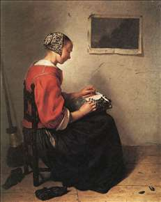 The Lace-Maker