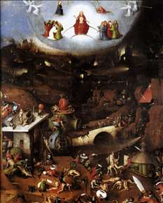 Triptych of Last Judgement (central panel)