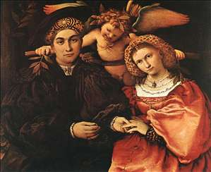 Messer Marsilio and his Wife