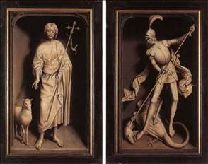 Triptych of the Family Moreel (closed)
