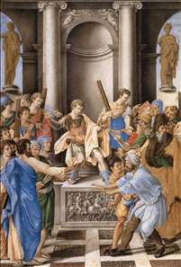 Elymas Struck Blind by St Paul before the Proconsul Sergius Paulus