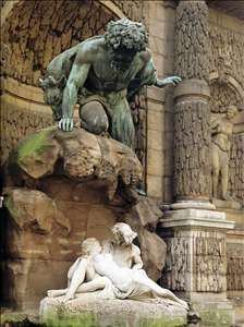Polyphemus Surprising Acis and Galatea