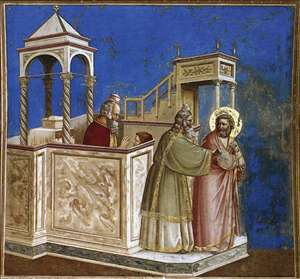 No. 1 Scenes from the Life of Joachim: 1. Rejection of Joachim's Sacrifice