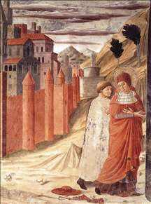 The Departure of St Jerome from Antioch