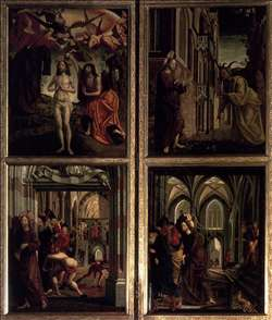 St Wolfgang Altarpiece: Scenes from the Life of Christ
