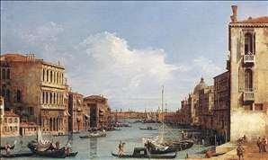 The Grand Canal from Campo S. Vio towards the Bacino