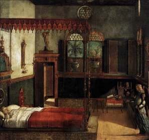The Dream of St Ursula