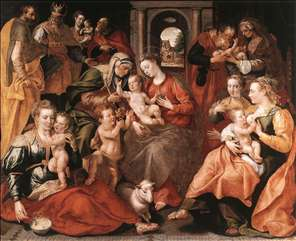 The Family of St Anne