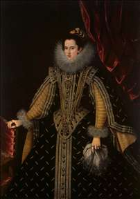 Portrait of Margarita Aldobrandini, Duchess of Parma