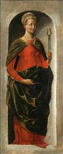 Griffoni Polyptych: St Apollonia