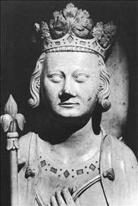 Head of the effigy of Philip IV le Bel