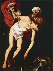 St Sebastian Attended by St Irene and Her Maid