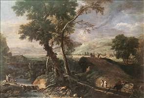 Landscape with River and Figures