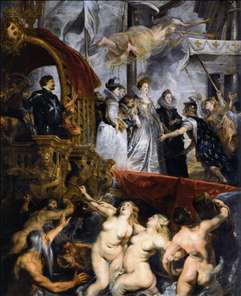 The Landing of Marie de Médicis at Marseilles