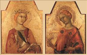 St Catherine and St Lucy
