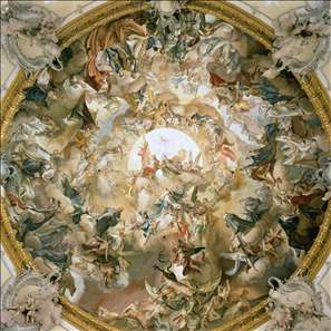 The Apotheosis of St Benedict