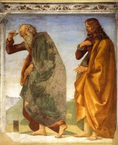 Pair of Apostles in Dispute