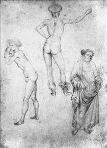 Nude Men and St Peter
