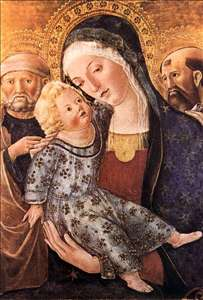 Madonna with Child and Two Saints