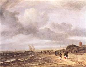 The Shore at Egmond-an-Zee