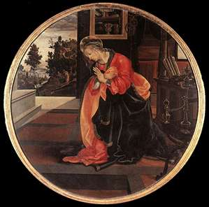 Virgin from the Annunciation