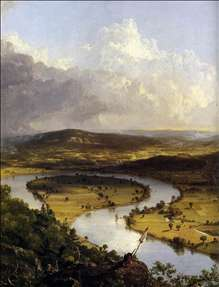 View from Mount Holyoke, Northamptom, Massachusetts, after a Thunderstorm