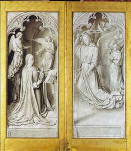 The Moulins Triptych (closed)